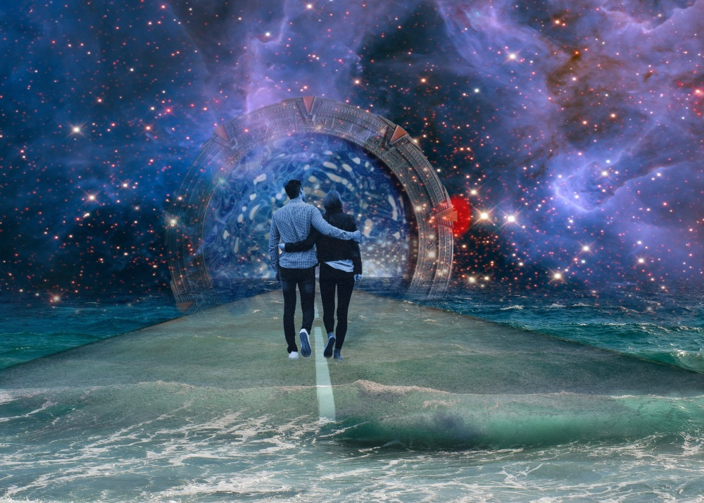 When Divine soulmates (Soulmates, Twin Flames, Soul Twin, Twin Ray and Karmic connections) meet face-to-face, their vibrations rise to a higher frequency. They are introduced to a new world of spiritual awareness and unconditional love. When the Divine union happens with your Soulmate or Twin flame, this prepares the energy to a higher level of union, that can never be broken and sometimes continue throughout many life times. Every soul connection can find one another and begin the merge process. But it's the spiritual awakening that is necessary for healing that we need within inside ourselves. When we meet our Divine Partner, it activates the fear inside of us. Many things that we carry in us with our realizing, these old past wounds and are amplified through their initial meeting. Twin flames many times will awake at different times when they first meet. Some can carry a relationship (even marriage) for a while and still they may not be completely awakened. This will cause the unawakened to run and hide from their true self. This is when the healing process must take place and the learning lessons begin for both divine soulmates find their strength and truth (awakening to 5D). The most interesting part with this process is that you actually gain awareness of your own soul center. And even if you tried to disconnect from this connection or even run, the more it gets stronger and it will never stop merging together. When you are trying to reach out to your Twin and they are not listening; many times this is advised that you take a step back not to do the chasing. I've mentioned many times with Runner and Chaser stages (in all soul connections) is that the runner runs from their own inflicted previous wounds and the chaser needs to heal and let go of their own insecurities. Many times your Twin Soul is running from fear-based energy that they have been holding on to, and need to let go. You may feel it too, causing you both to work on this energetically. There could